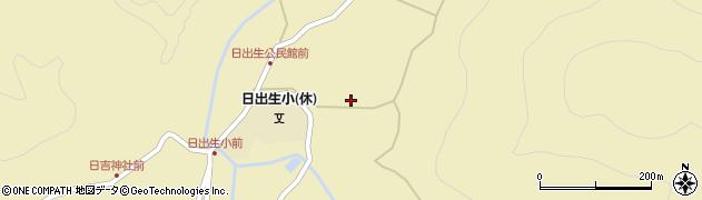 大分県玖珠郡玖珠町日出生2020周辺の地図