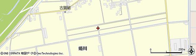 福岡県久留米市大橋町(蜷川)周辺の地図