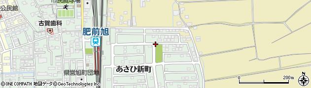 佐賀県鳥栖市あさひ新町周辺の地図
