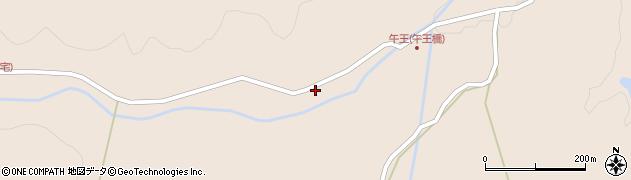大分県玖珠郡玖珠町古後1455周辺の地図