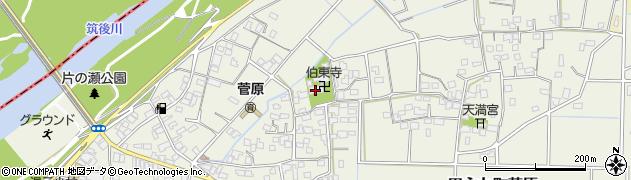 伯東寺周辺の地図