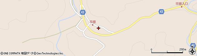 大分県玖珠郡玖珠町古後1217周辺の地図
