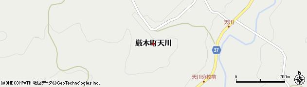 佐賀県唐津市厳木町天川周辺の地図