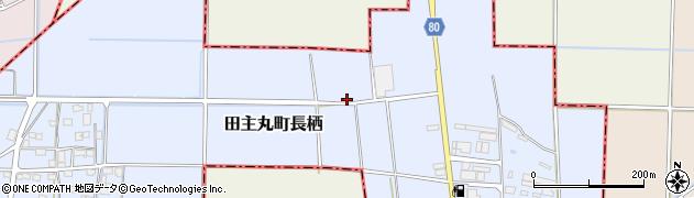 福岡県久留米市田主丸町長栖周辺の地図