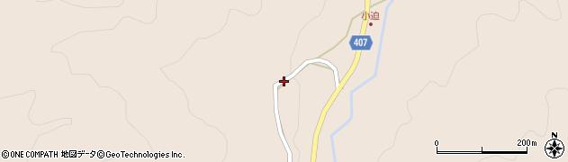 大分県玖珠郡玖珠町古後3794周辺の地図