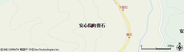 大分県宇佐市安心院町畳石周辺の地図