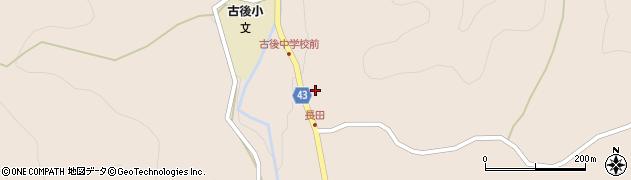 大分県玖珠郡玖珠町古後892周辺の地図