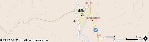 大分県玖珠郡玖珠町古後1623周辺の地図