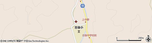 大分県玖珠郡玖珠町古後1675周辺の地図