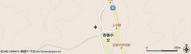 大分県玖珠郡玖珠町古後1677周辺の地図