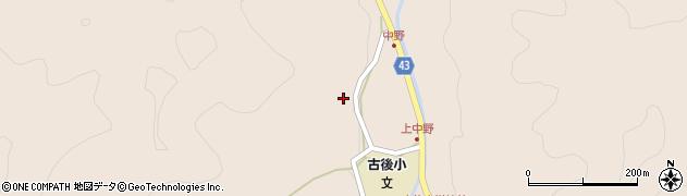 大分県玖珠郡玖珠町古後1691周辺の地図