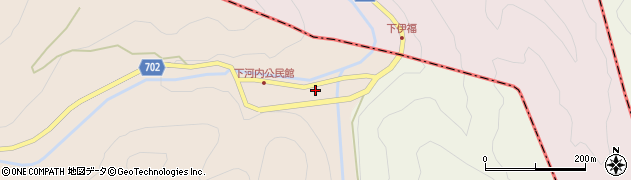 大分県玖珠郡玖珠町古後542周辺の地図