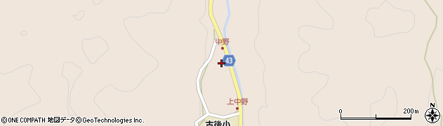 大分県玖珠郡玖珠町古後1680周辺の地図