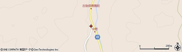 大分県玖珠郡玖珠町古後1735周辺の地図