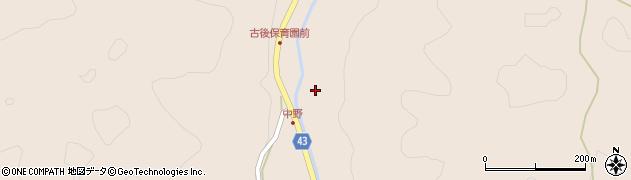 大分県玖珠郡玖珠町古後810周辺の地図