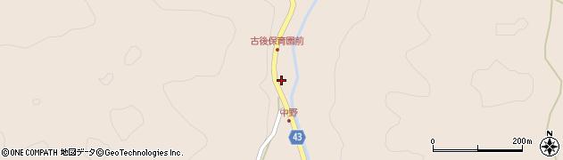 大分県玖珠郡玖珠町古後1739周辺の地図