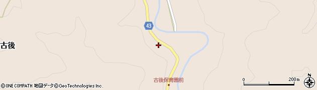 大分県玖珠郡玖珠町古後1826周辺の地図