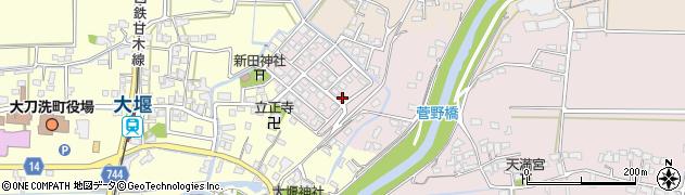 棚町肉屋周辺の地図