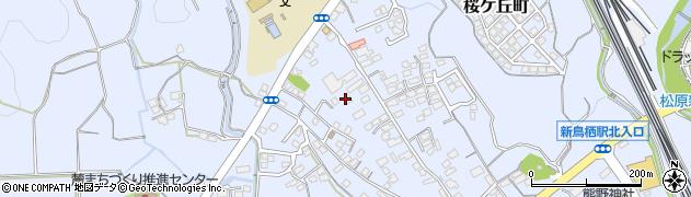 佐賀県鳥栖市原古賀町周辺の地図