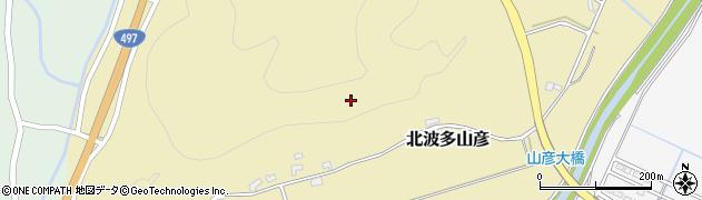佐賀県唐津市北波多山彦周辺の地図