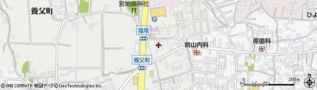 佐賀県鳥栖市養父町周辺の地図