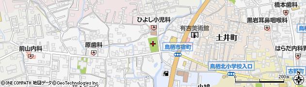船底神社周辺の地図
