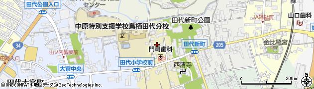 佐賀県鳥栖市田代上町周辺の地図