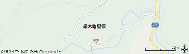 佐賀県唐津市厳木町星領周辺の地図