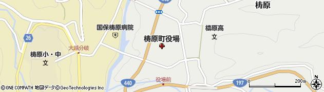高知県高岡郡梼原町周辺の地図