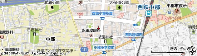 ATENAヘアメイク周辺の地図