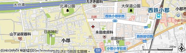 稲尾産業株式会社 小郡木材市場周辺の地図