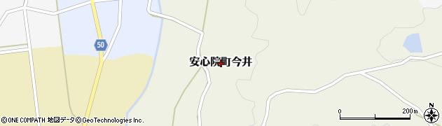 大分県宇佐市安心院町今井周辺の地図