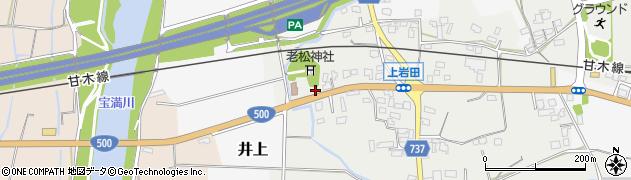 株式会社小郡車輌 上岩田店周辺の地図