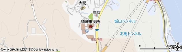 高知県須崎市周辺の地図