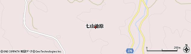 佐賀県唐津市七山池原周辺の地図