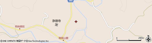佐賀県神埼市脊振町服巻(田中)周辺の地図