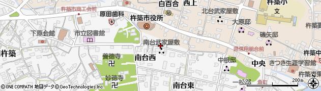 稲荷大明神周辺の地図