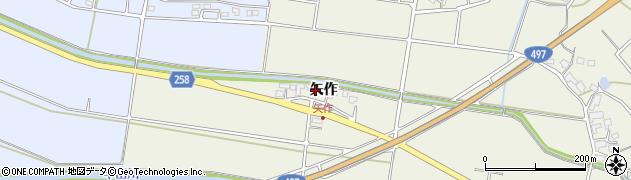 佐賀県唐津市半田(矢作)周辺の地図
