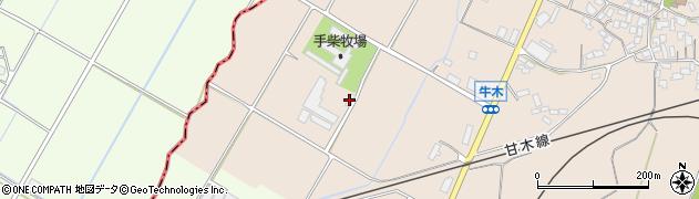 朝倉浄水(協業組合)し尿部門周辺の地図