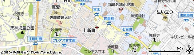 お茶の山本園 朝倉市中心商店街・中央本店周辺の地図