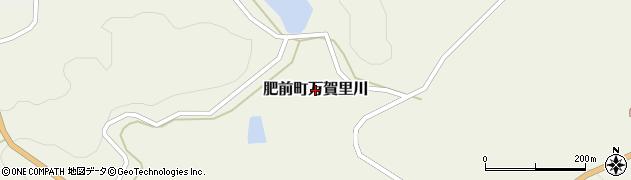 佐賀県唐津市肥前町万賀里川周辺の地図