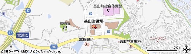 佐賀県三養基郡基山町周辺の地図