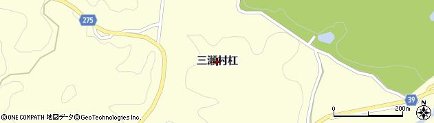 佐賀県佐賀市三瀬村杠周辺の地図