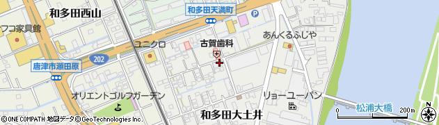 佐賀県唐津市和多田大土井周辺の地図
