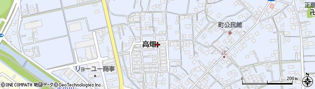 佐賀県唐津市鏡(高畑)周辺の地図