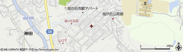 佐賀県唐津市旭が丘周辺の地図