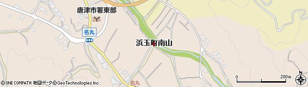 佐賀県唐津市浜玉町南山周辺の地図