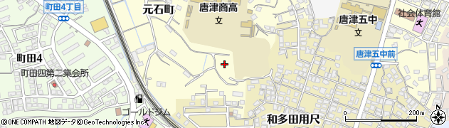佐賀県唐津市元石町周辺の地図
