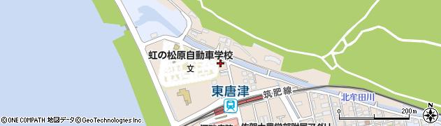 佐賀県唐津市松南町周辺の地図