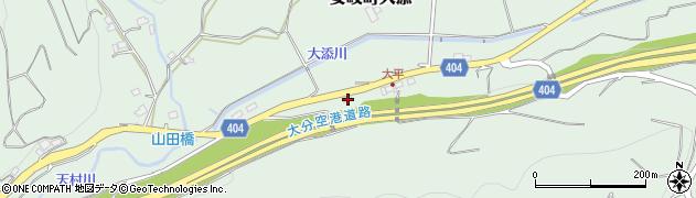 大分県国東市安岐町大添635周辺の地図